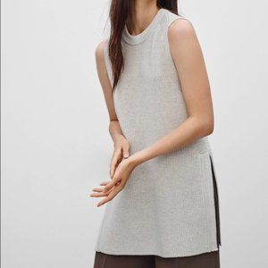 Wilfred white Palmier knit tunic
